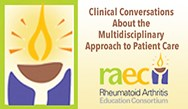 "<font size=""4""><b>Balancing the Science and Art of Managing RA: A Focus on Treating to Target </font></b><br><font size=""3"">Clinical Conversations about the Multidisciplinary Approach to Patient Care</font>"