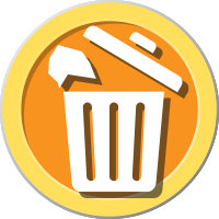 Trash Can Symbol